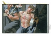 14. Jesus Is Nailed To The Cross / From The Passion Of Christ - A Gay Vision Carry-all Pouch