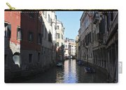 Narrow Canal Venice Italy Carry-all Pouch