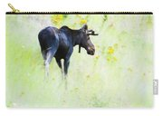 140729a-214 Mountainside Moose 1 Carry-all Pouch