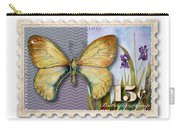 15 Cent Butterfly Stamp Carry-all Pouch