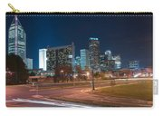 Skyline Of Uptown Charlotte North Carolina At Night. Carry-all Pouch
