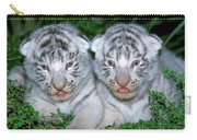 Tigre Blanc Panthera Tigris Carry-all Pouch