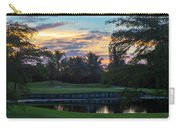 15th Green At Hollybrook Carry-all Pouch