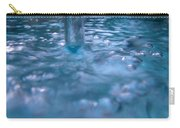 Australia - Deep Blue White Water Colour Carry-all Pouch