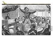 Davy Crockett (1786-1836) Carry-all Pouch