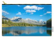 Lake With Mountains In The Background Carry-all Pouch