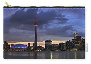 Toronto Skyline Carry-all Pouch by Elena Elisseeva