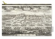 1697 Pufendorf View Of Krakow Cracow Poland Carry-all Pouch