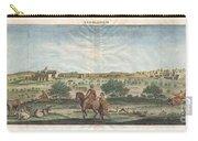 1698 De Bruijin View Of Bethlehem Palestine Israel Holy Land Carry-all Pouch