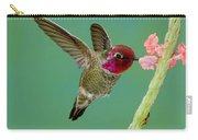 Annas Hummingbird Carry-all Pouch