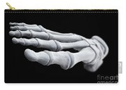 Foot Bones Carry-all Pouch