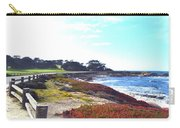 17 Mile Drive Shore Line II Carry-all Pouch by Barbara Snyder