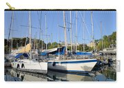 Reflections In Mikrolimano Port Carry-all Pouch
