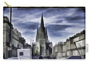View Of Episcopal Cathedral In Edinburgh Carry-all Pouch