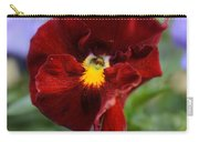 Viola Tricolor Heartsease Carry-all Pouch