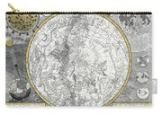 1700 Celestial Planisphere Carry-all Pouch
