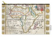 1710 De La Feuille Map Of Africa Carry-all Pouch