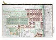 1750 Bellin Map Of Cape Town South Africa Carry-all Pouch
