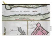 1750 Bellin Map Of The Senegal Carry-all Pouch