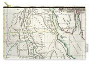 1762 Bonne Map Of Egypt  Carry-all Pouch
