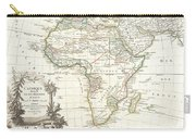 1762 Janvier Map Of Africa Carry-all Pouch