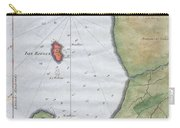 1763 Bellin Map Of Cape Town  Carry-all Pouch