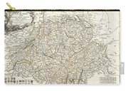 1771 Bonne Map Of Switzerland Carry-all Pouch