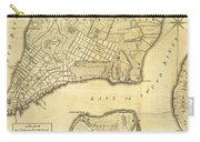1776 New York City Map Carry-all Pouch