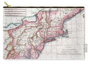 1780 Raynal And Bonne Map Of Northern United States Carry-all Pouch