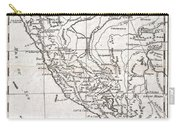 1780 Raynal And Bonne Map Of Peru Carry-all Pouch