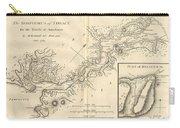 1784 Bocage Map Of The Bosphorus And The City Of Byzantium  Istanbul  Constantinople Carry-all Pouch