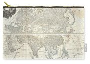 1784 D Anville Wall Map Of Asia Carry-all Pouch