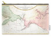 1788 Schraembl Map Of The Northwest Passage Carry-all Pouch