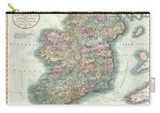 1799 Cary Map Of Ireland  Carry-all Pouch