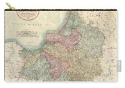 1799 Cary Map Of Prussia And Lithuania  Carry-all Pouch