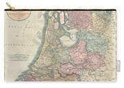 1799 Cary Map Of The Netherlands Carry-all Pouch