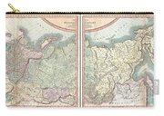 1799 Cary Map Of The Russian Empire Carry-all Pouch