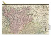 1799 Cary Map Of Tyrol Carry-all Pouch