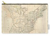 1799 Cruttwell Map Of The United States Of America Carry-all Pouch