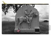17th Pennsylvania Cavalry Monument Gettysburg Carry-all Pouch