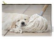 Golden Retriever Puppy Carry-all Pouch
