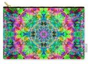 Rainbow Light Mandala Carry-all Pouch