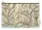 1800 Bardi Map Of Genoa Genova Italy  Carry-all Pouch