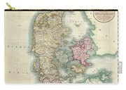 1801 Cary Map Of Denmark Carry-all Pouch