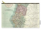 1801 Cary Map Of Portugal Carry-all Pouch