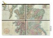 1801 Cary Map Of Scotland  Carry-all Pouch