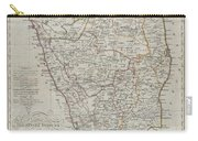 1804 German Edition Of The Rennel Map Of India Carry-all Pouch