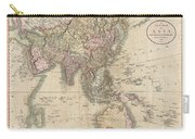 1806 Cary Map Of Asia Polynesia And Australia Carry-all Pouch