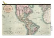 1806 Cary Map Of The Western Hemisphere  North America And South America Carry-all Pouch