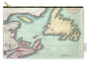 1807 Cary Map Of Nova Scotia And Newfoundland Carry-all Pouch